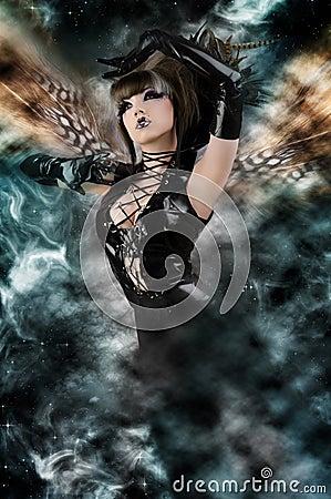 Fairytale - Beautiful Sexy Sky Fairy