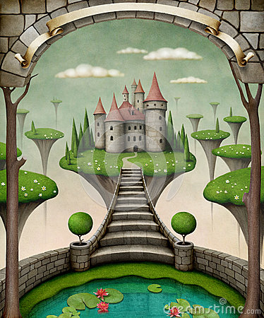 Free Fairytale Castle Royalty Free Stock Images - 29951039