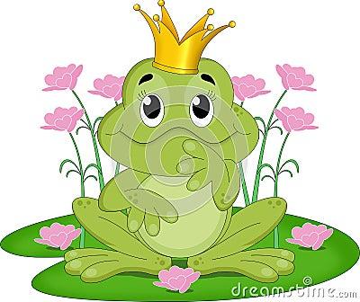 Fairytale frog king