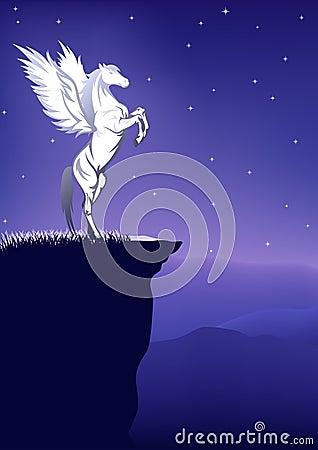 Fairytale night vector