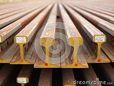 Faisceaux en acier