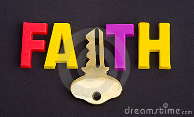 Faith holds the key.