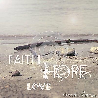 Free Faith Hope Love Stock Photos - 44809513
