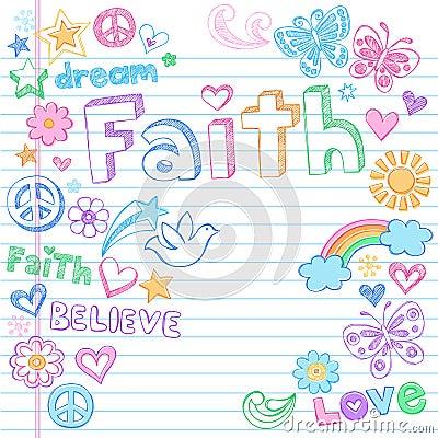 Free Faith Peace Dove Sketchy Doodles Vector Royalty Free Stock Photo - 23065615