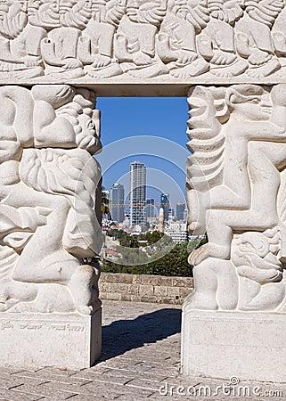 The Faith Statue Editorial Stock Photo