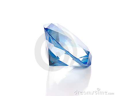 Fake Blue Diamond