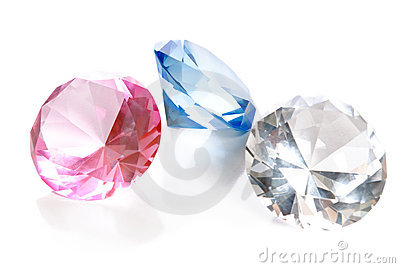 Fake Colored Gems