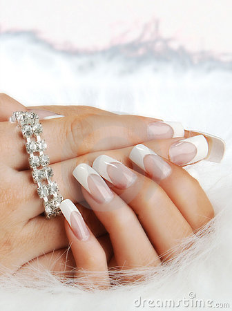 Free Fake Nails On Hands Of Woman Royalty Free Stock Images - 15554439