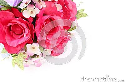 Fake roses,Plastic roses
