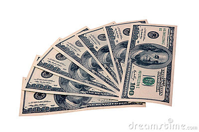 Fakturerar dollar hundra
