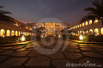 Falaknuma Palace, Hyderabad Editorial Stock Image