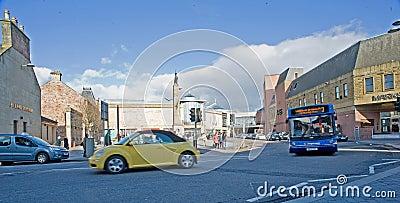 Falcon Square Inverness. Editorial Photography