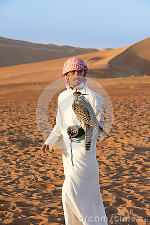 Free Falconer And Falcon Stock Images - 50373484