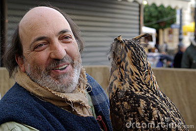 Falconry Display Editorial Photography