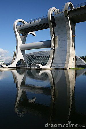Falkirk, The Falkirk Wheel Royalty Free Stock Photos - Image: 10909458