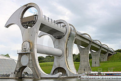 Falkirk Wheel, Scotland, UK, Europe
