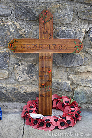 Falklands War Memorial - Falkland Islands Editorial Photography
