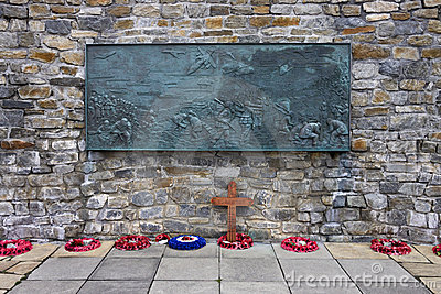 Falklands War Memorial - Stanley - Falklands Editorial Image