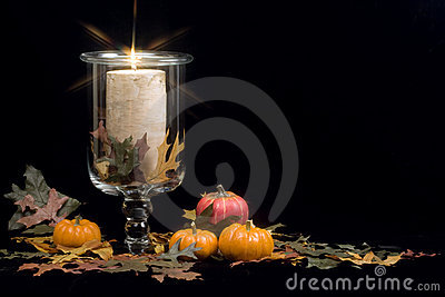 Fall - Autumn Candle