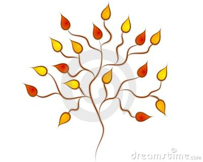 Clip Art Tree. FALL AUTUMN TREE CLIP ART