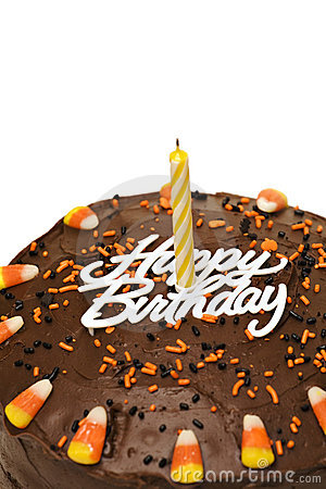Fall Birthday Cake Royalty Free Stock Photos Image 3431028