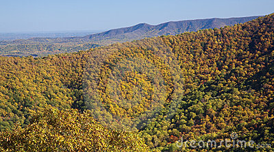 Fall In The Blue Ridge Mountains