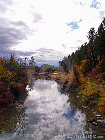 Fall Colors Along The River #1