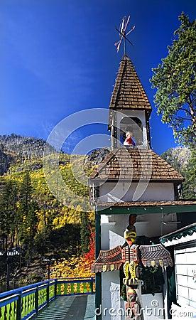 Fall Colors Steeple Leavenworth Washington