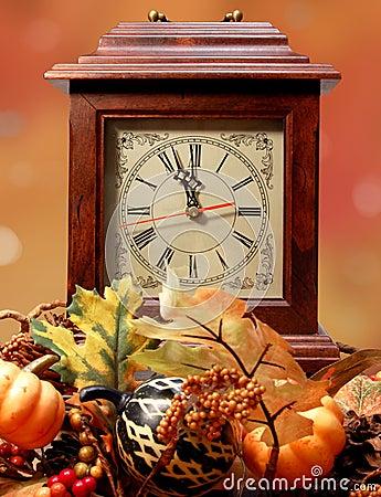 Fall Forwad Spring Back Clock