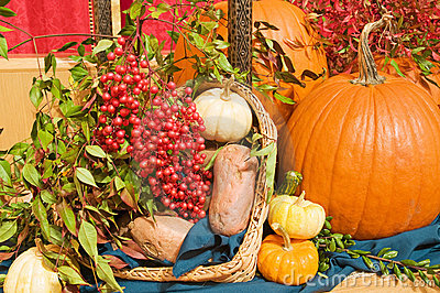 Fall harvest arrangement