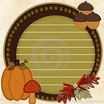 Free Fall Harvest Blog Royalty Free Stock Photos - 16518988