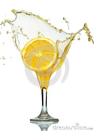 Fall in juice