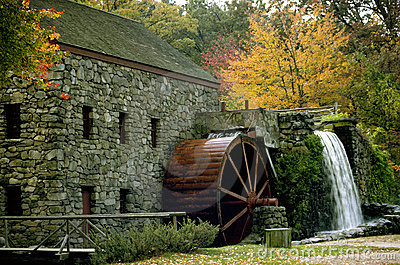 Fall Mill Royalty Free Stock Photography Image 40347