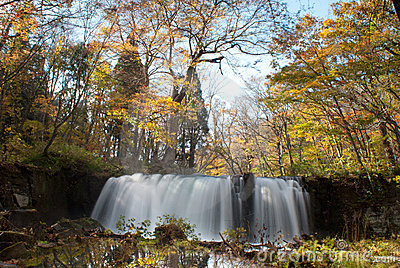 Fall of Oirase, Japan