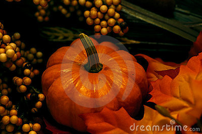 Fall - Pumpkin Arrangement