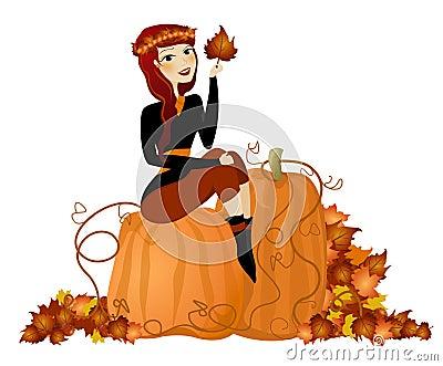 Fall Pumpkin Diva