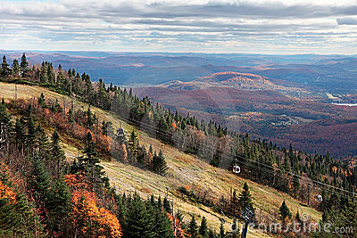 Fall Season on top of Mont-Tremblant