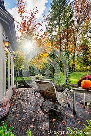Fall sunshine