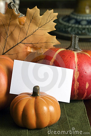 Fall Table Placecard