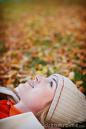 Free Fall Woman Stock Photo - 295370