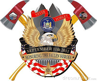 Fallen Heroes 911 Memorial Decal Editorial Image
