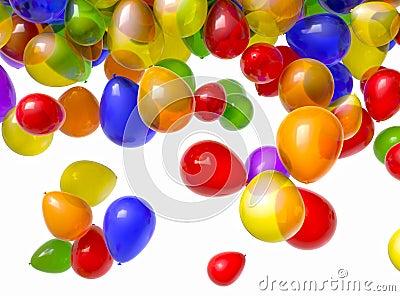 Falling Balloons