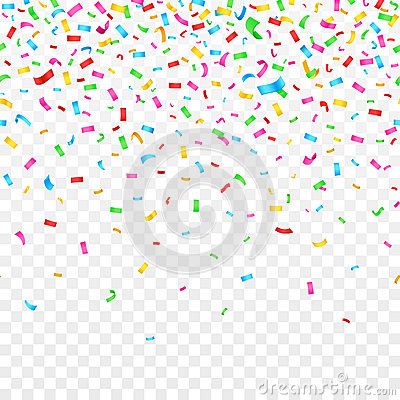 Free Falling Confetti On Checkered Background. Celebration Party Holiday Decoration Stock Photos - 83467153