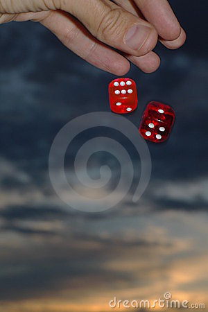 Free Falling Dices Royalty Free Stock Images - 236259