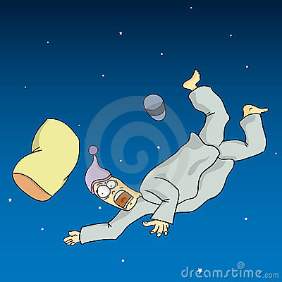 Falling Dream Stock Image - Image: 19426261