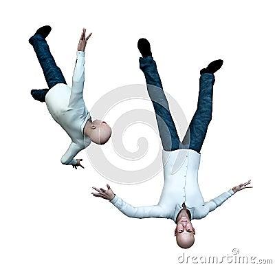 Falling Men 1