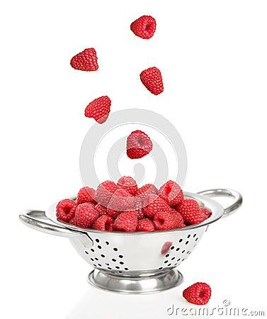 Falling Raspberries