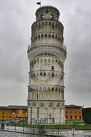 Free Falling Tower Of Pisa Royalty Free Stock Image - 13493736