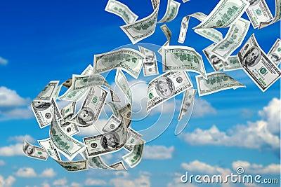 Falling US Dollars