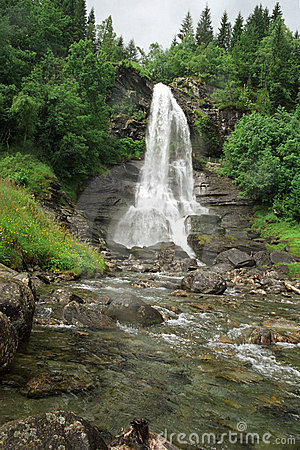 Free Falls In Norway Stock Photography - 840302
